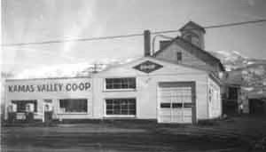 Front View of the Kamas Valley Co-Op