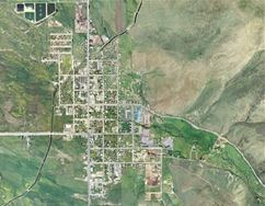 Small Aerial View of Kamas City
