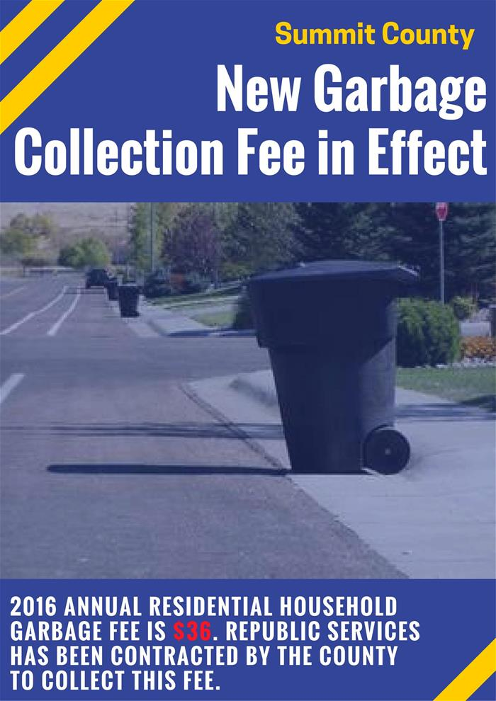 New Garbage Fees