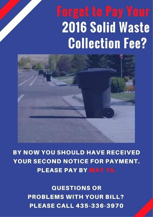 Solid Waste Collection Fee - Week 2