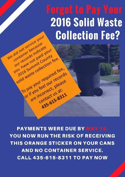 Copy of Garbage Collection Fee