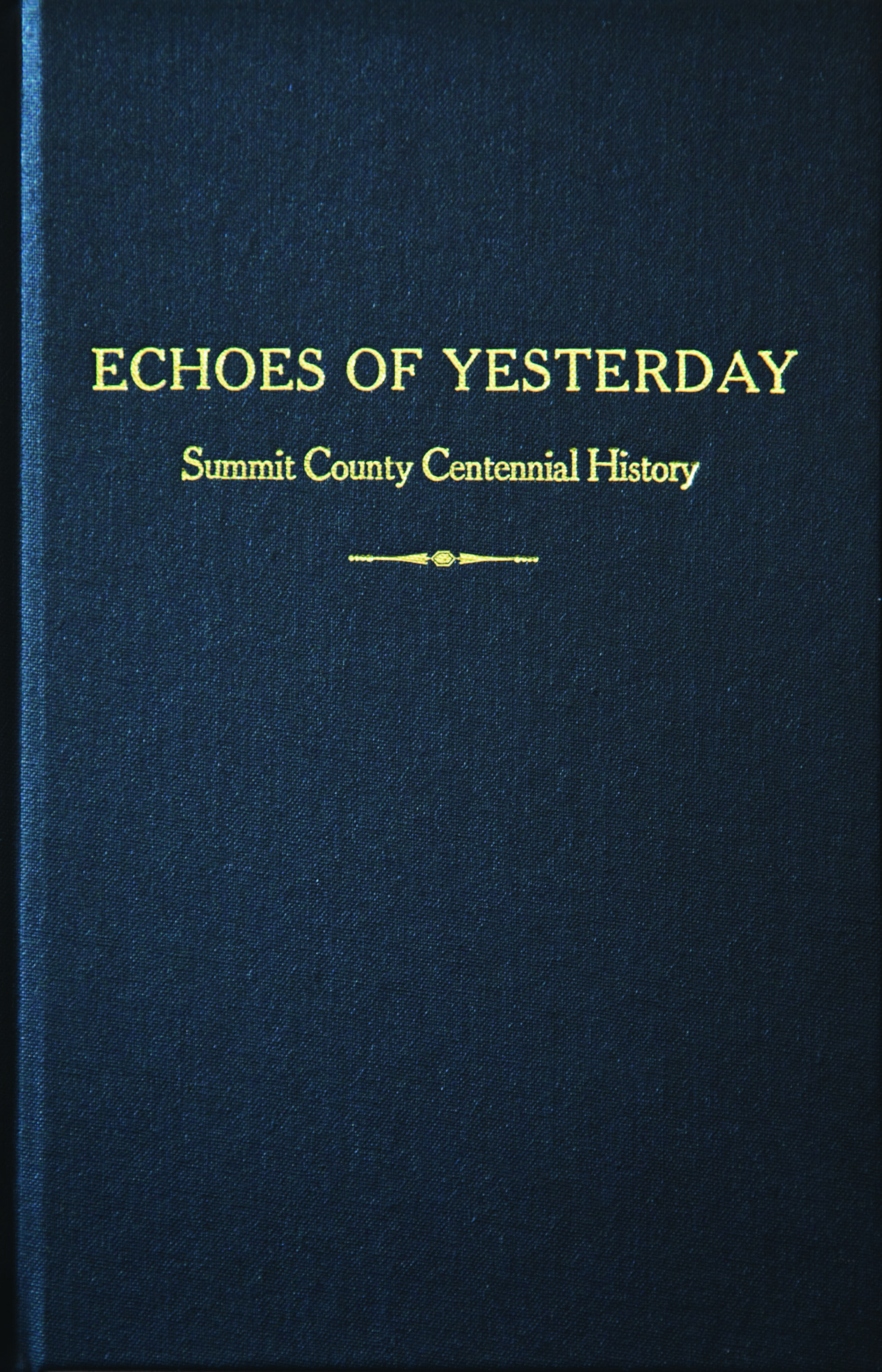 Echos of Yesterday