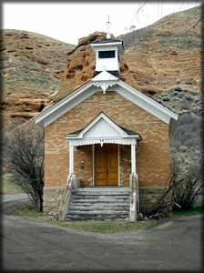 Echo Canyon Settlement Church