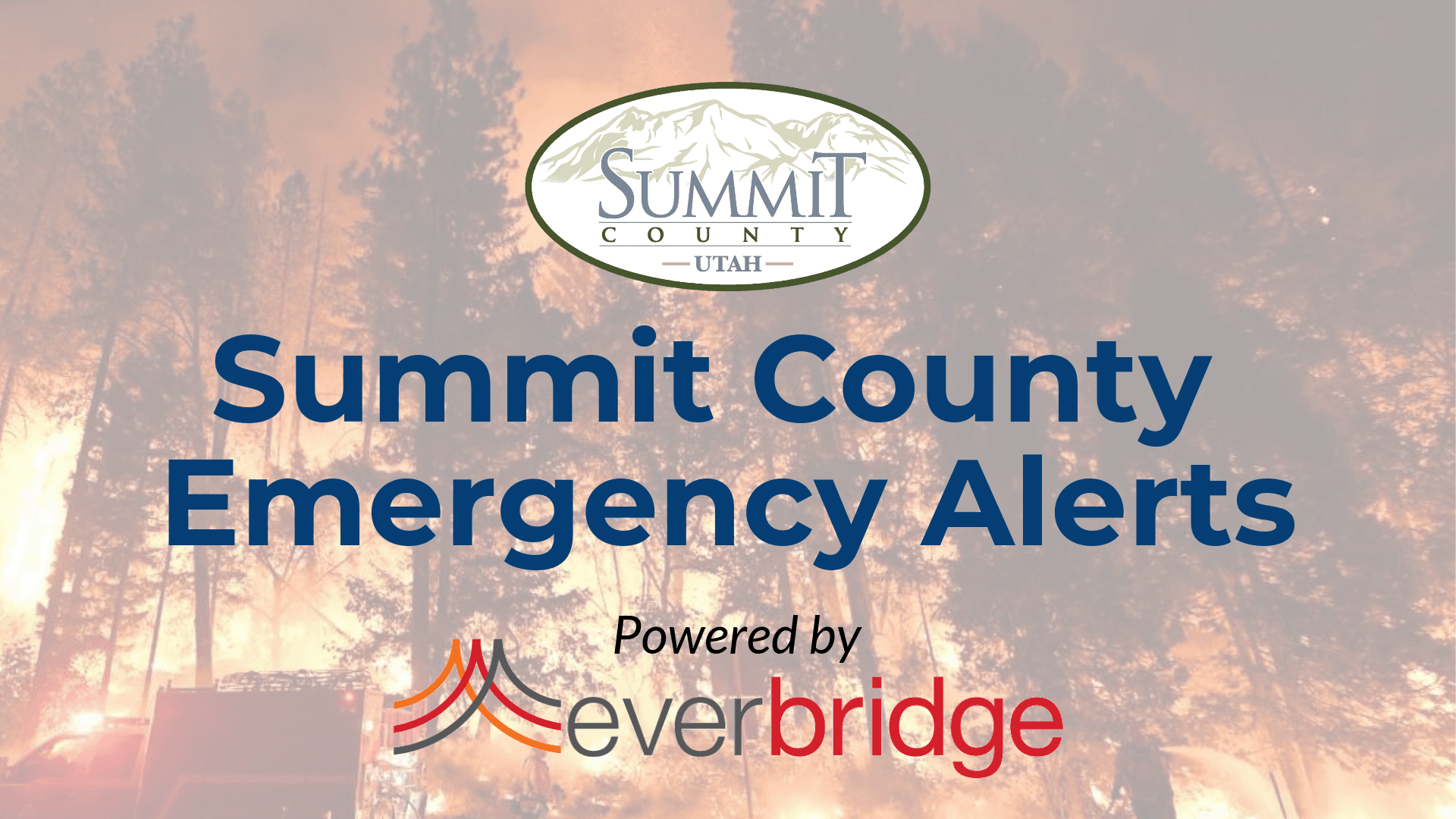 Summit County Alerts Landing Page Cover