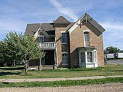 Front View of John Boyden House