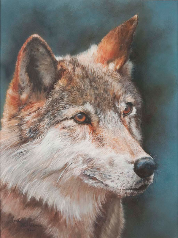 Summit County Art Wolf